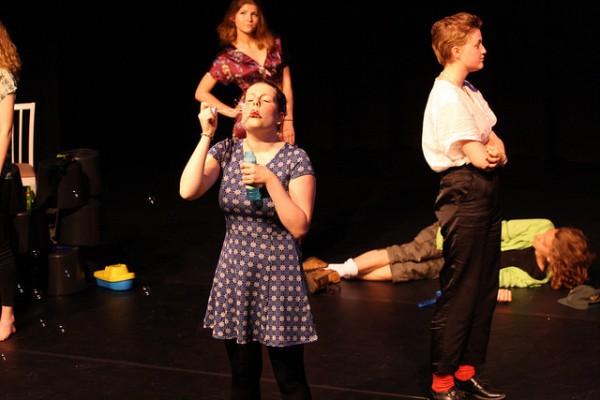 toneellessen voor tieners en jongeren